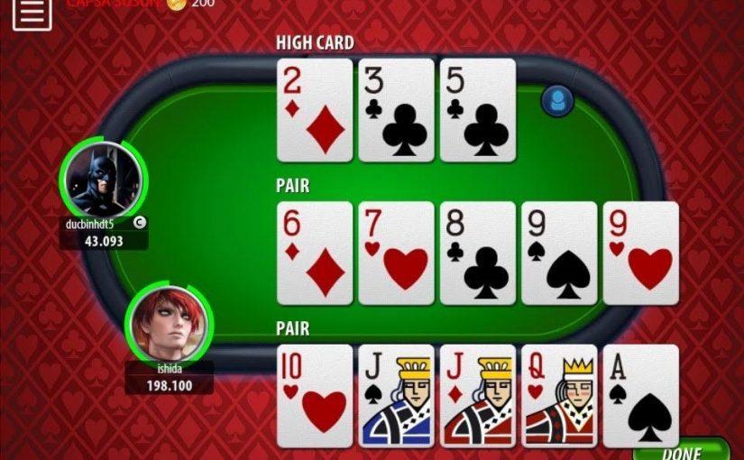 Playing Capsa Susun Online Gambling
